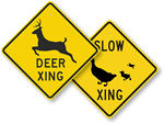 More Animal Crossing Signs