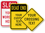 More Highway Sign Templates