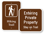 More Trail Signs