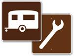 Motorist Services Signs