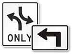 MUTCD Turn Signs