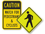 Pedestrian Crossing Signs