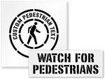 Pedestrian Stencils