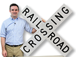 Rail Road Crossing Signs