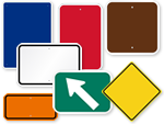 Road Signs by Color