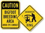 Sasquatch Signs