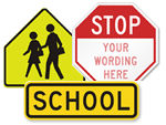 School Traffic Signs