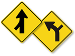 Side Road Signs