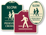 SignatureSigns™ – Pedestrian Traffic Signs