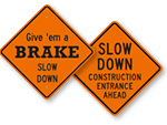 Construction Traffic Signs