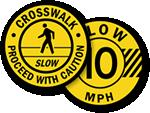 Speed Limit Floor Signs