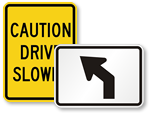 Stock Highway Signs