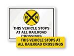 Stops at All Railroad Crossings