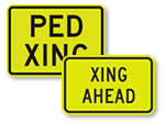 Supplemental School Crossing Signs