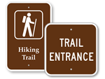 Trail Signs - Hiking Trail Signs