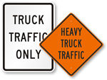 Truck Traffic Signs
