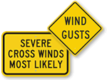 Wind Warning Signs