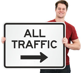 Advance Traffic Control Signs