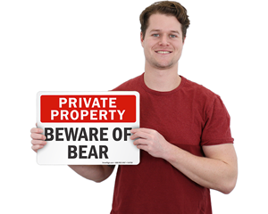 Bear Warning Signs