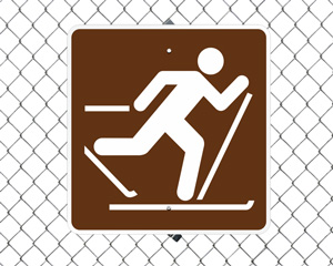 Skiing Winter Sports Signs
