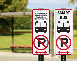 Custom Bus Signs