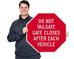 Octagon Custom Road Signs