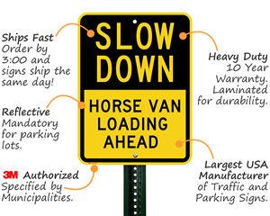 Vertical Custom Road Signs