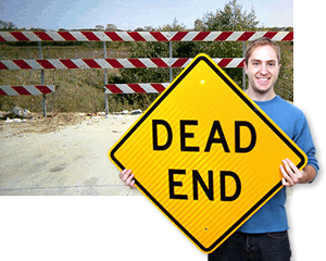 Dead End Signs