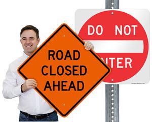 Highway Road Signs