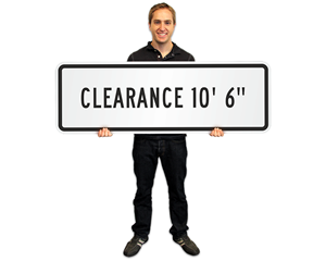 Low Clearance Signs