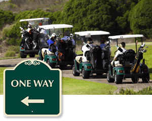 Signature™ One Way Signs