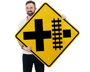 Railroad Crossing Signs | Railroad Signs