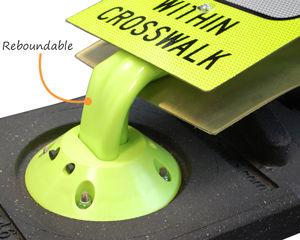 Reboundable Pedestrian Signs