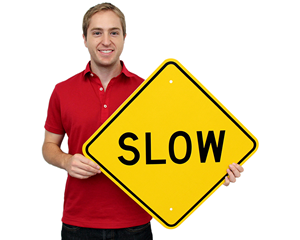 Slow Vehicle Signs