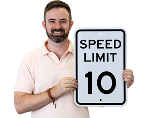 Speed Limit Sign by MPH