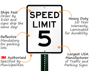 Speed Limit Sign Features