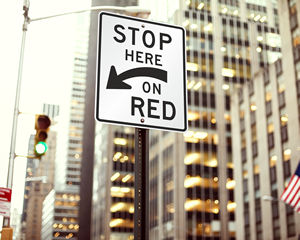 Stop Message Signs
