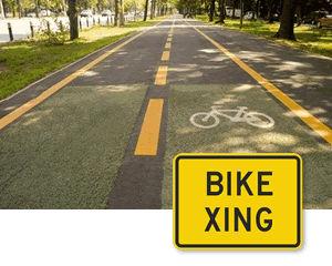 Supplemental Crossing Signs