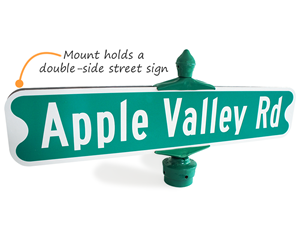 Traditional Street Sign Bracket