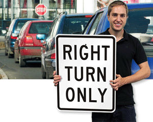 Turn Signs