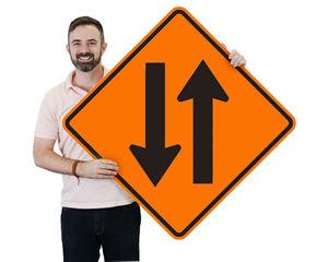 Two Way Traffic Signs – Diamond Shaped