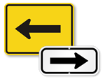 Arrow Directional Signs