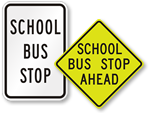 Looking for School Bus Stop Signs?