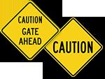 Caution Traffic Signs