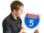 Custom Interstate Signs