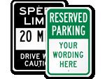 Custom Sign Templates