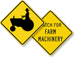 Farm Road Signs