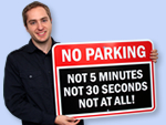 Funny Parking Signs Too!