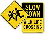 Looking for Crossing Signs?