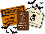 Custom Halloween Signs